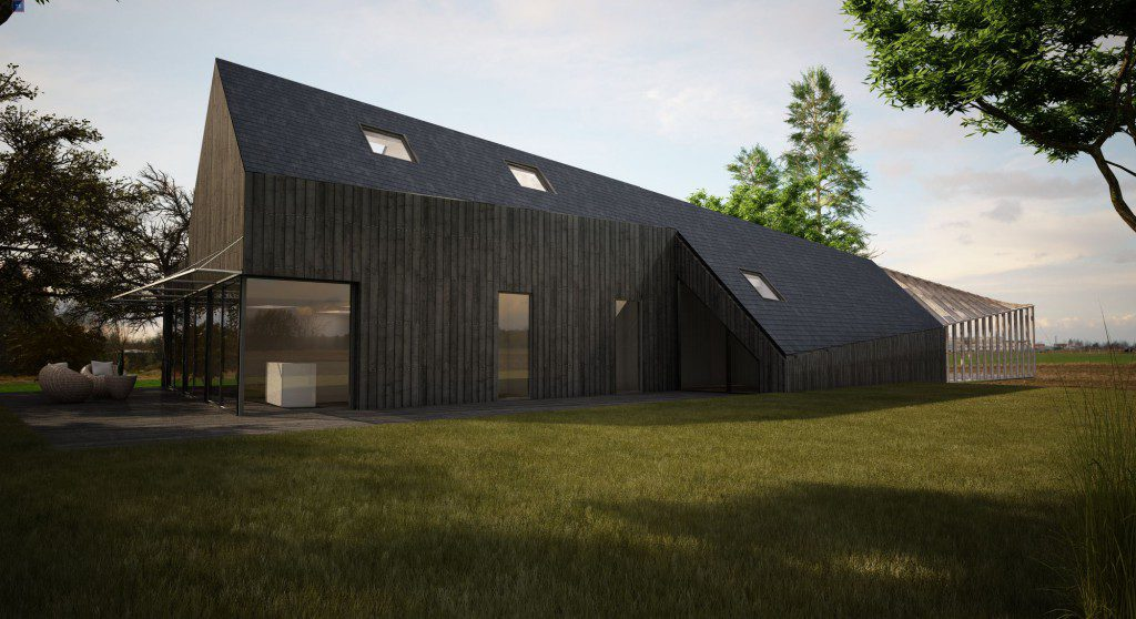 Bioclimatic-house-project-in-France