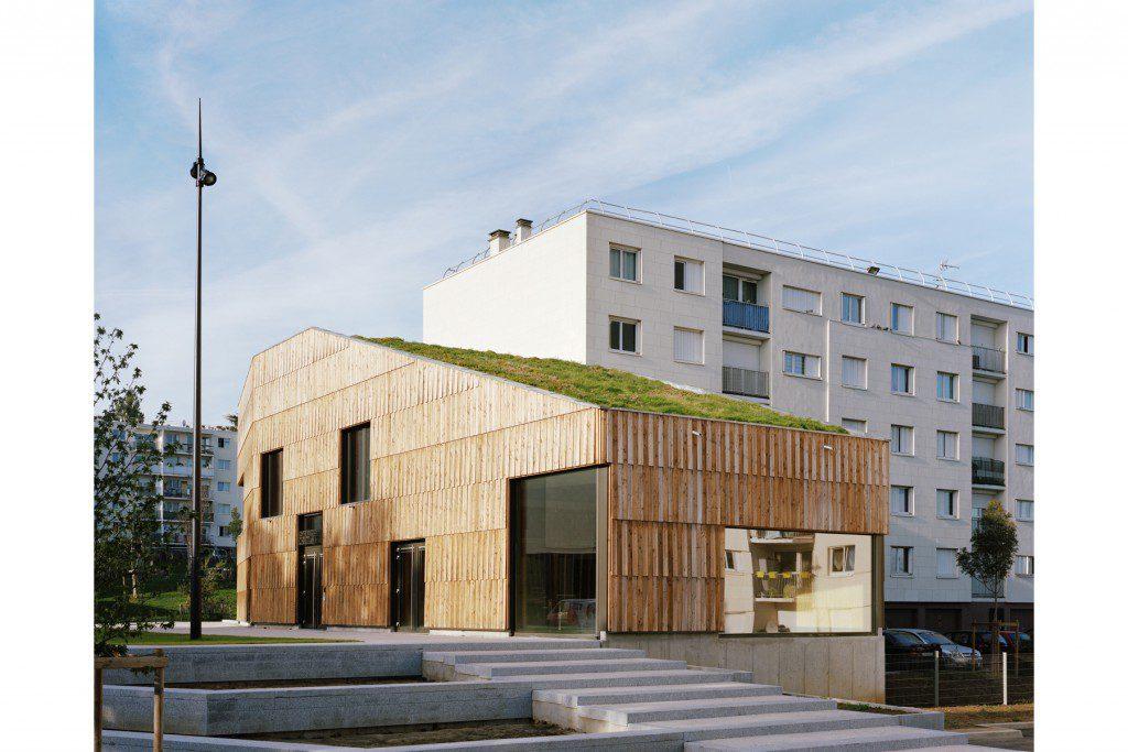 Community-center-Christian-Marin-I-Limeil-Brévannes-I-passivhaus-biosourcé-niveau-3