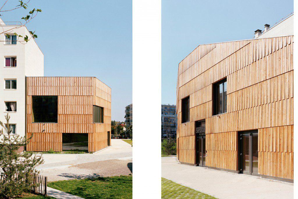 Community-center-Christian-Marin-I-Limeil-Brévannes-I-passivhaus-biosourcé-niveau-3-4