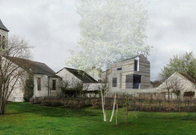 Draft-wooden-house-built-Crosnes-France