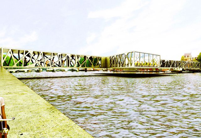 Iconic-Pedestrian-Bridge-Amsterdam