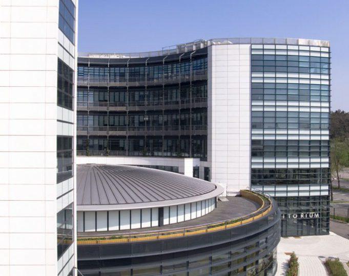 office building and auditorium at sanofis headquarter france by sla architecture archilist - Cool Architecture Office Buildings